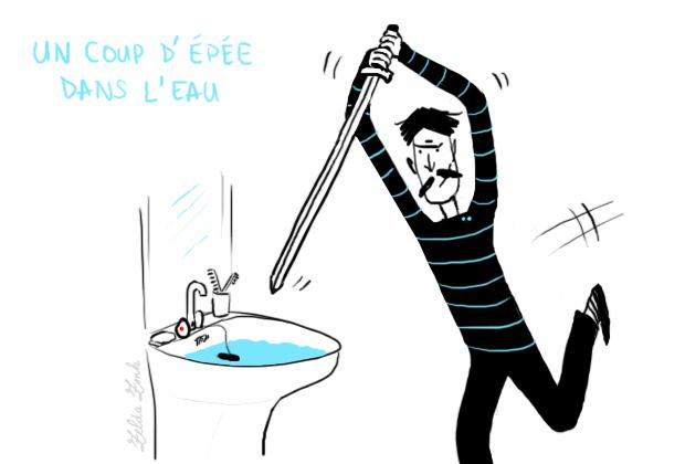 Coup d'épée dans l'eau