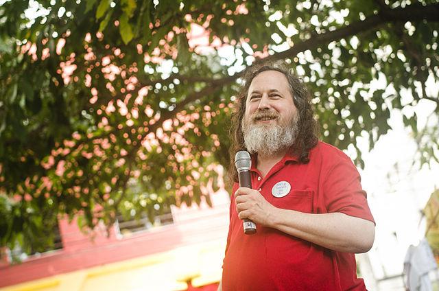 Richard Stallman aux Preliminares 2012