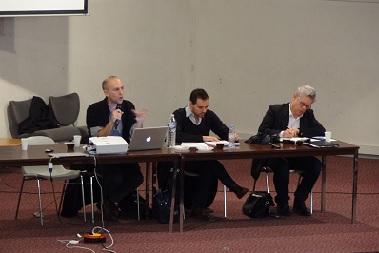 De gauche à droite : Thomas Kirszbaum, Julien Talpin et Loïc Blondiaux