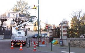 Installation de caméras en 2012